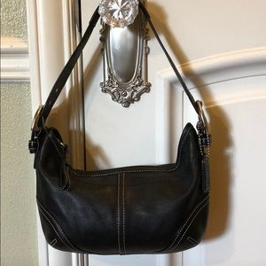 Coach Leather Hobo Shoulder Purse
